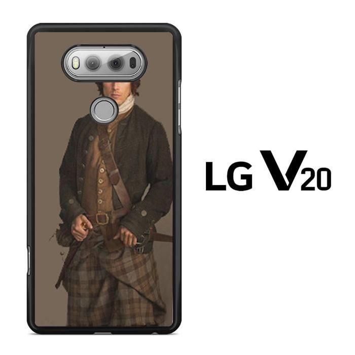 jamie Fraser Outlander Starz Series LG V20 Case Dewantary
