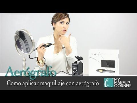 Como aplicar maquillaje con aerógrafo - How to Apply AirBrush Makeup