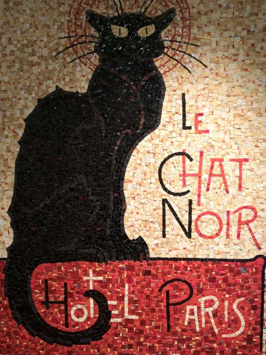 LOVE.....Le Chat Noir  I have this print on canvas!