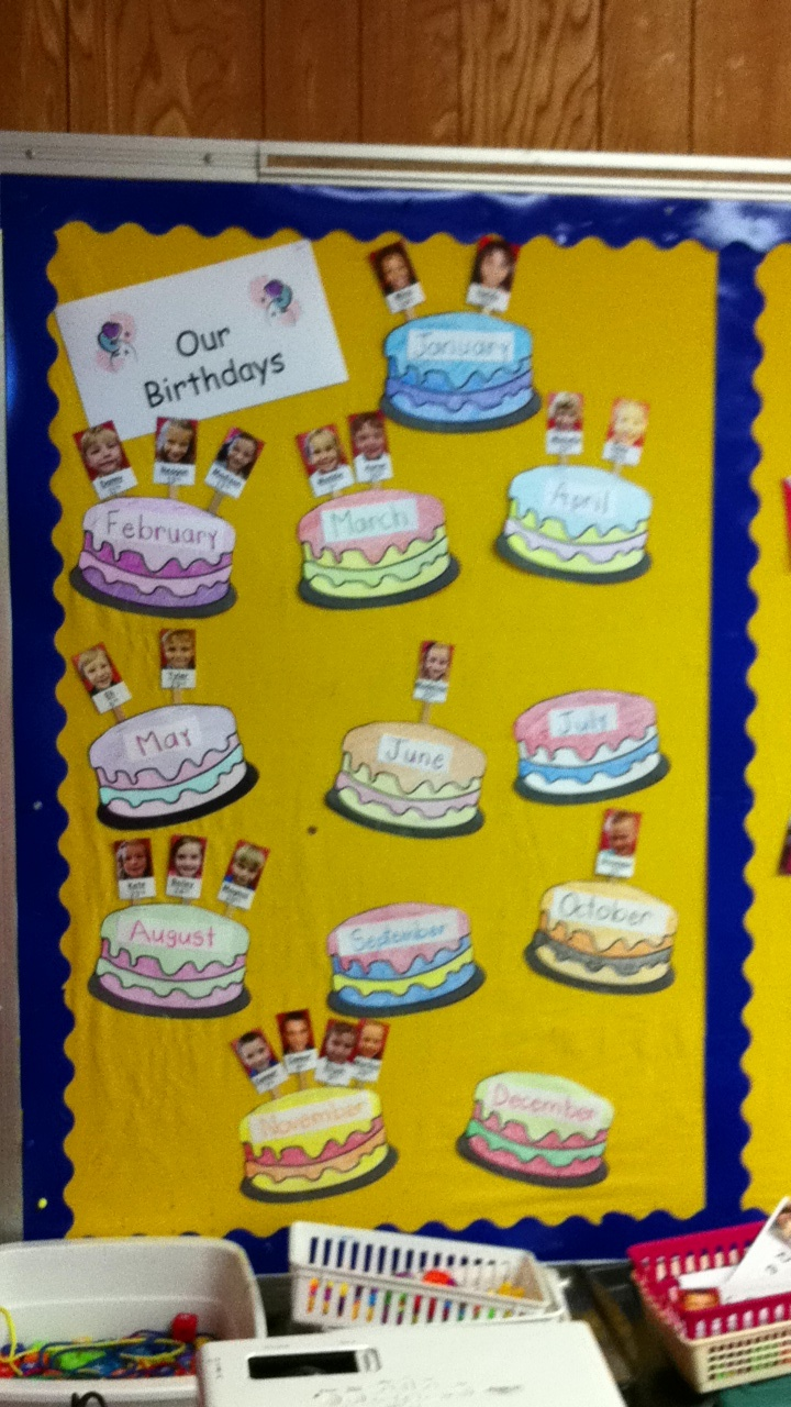 22 Best Images About Classroom Birthday Board Ideas On Pinterest Birthdays Cupcake And