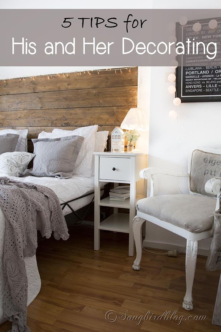 21 best projects and tips from mom 4 real images on for His and her bedroom decorating ideas
