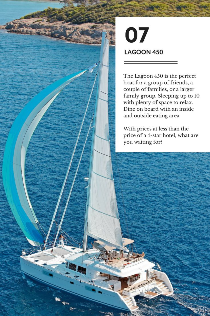 The stunning Lagoon 450 makes the perfect #sailing holiday for less than the price of a 4 star hotel.