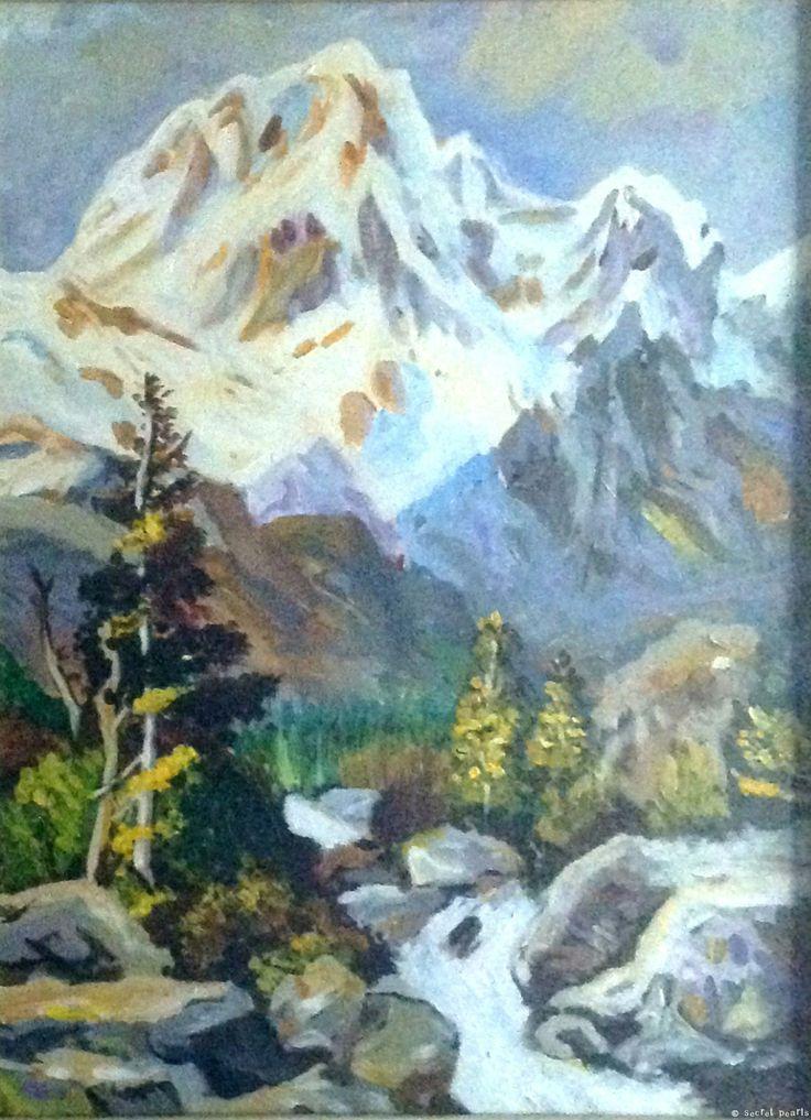 "Kay Moon, Untitled, 20.2"" x 17.7"", Acrylic on Canvas"