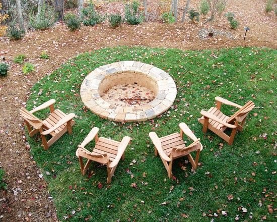 Sunken Firepit Design, Pictures, Remodel, Decor and Ideas - page 3