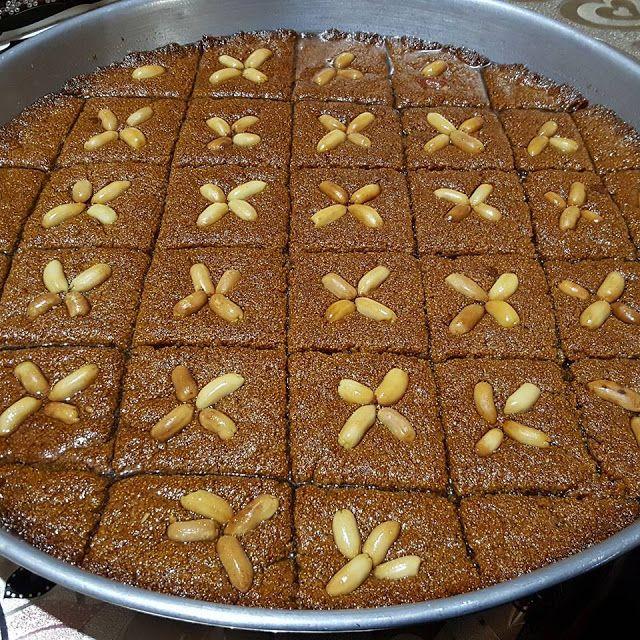 اطيب صينية الحلبة Arabic Sweets Food Desserts