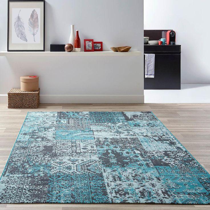 Doen herleven tapijten Re07 In blauw
