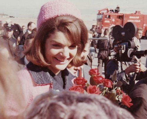 Jackie Kennedy November 22, 1963 - An Hour Before JFK's Assassination