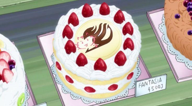 anime cake | Pin Fairy Tail