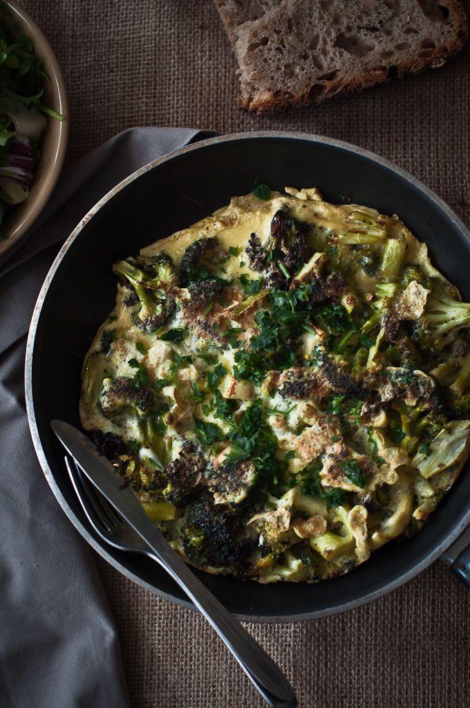 Roasted Broccoli Frittata: F Fun Food, F F Food, Food Focus, Food Drinks Desserts, Breakfast, Food Recipe, Broccoli Frittata, Gluten Fre Lifestyle, Food Mmm