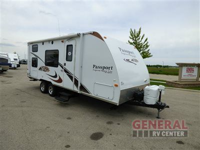 Used 2012 Keystone RV Passport Express SL 238ML Travel Trailer at General RV | Huntley, IL | #141215