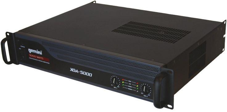 Gemini - Professional Power Amp (5000W; Signal-to-noise ratio: 20Hz - 20kHz @ 100dB)