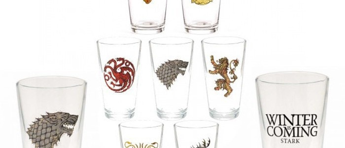 Game of Throne's pint glasses. How obsessed is too obsessed?