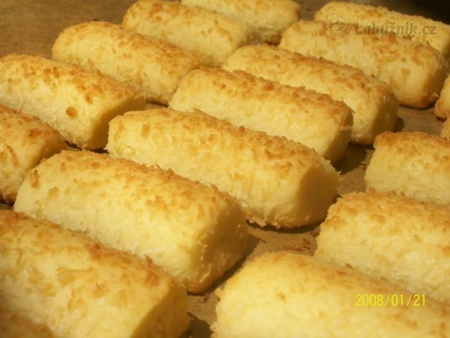 Coconut cookies - not very sweet, easy to make
