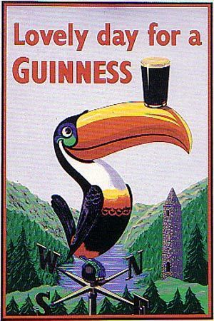 Guinness Poster- Good for the ole' Man Cave