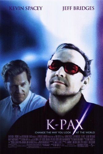 Directed by Iain Softley.  With Kevin Spacey, Jeff Bridges, Mary McCormack, Alfre Woodard. Prot is a patient at a mental hospital who claims to be from a far away Planet. His psychiatrist tries to help him, only to begin to doubt his own explanations.