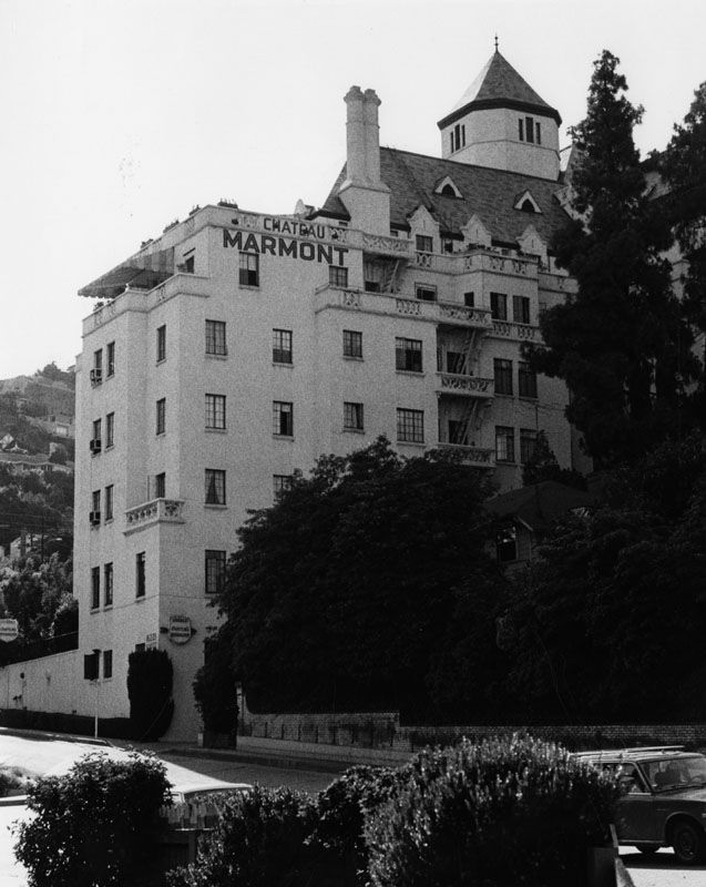 Cary Moore, Chateau Marmont Hotel. Source: Los Angeles Public Library