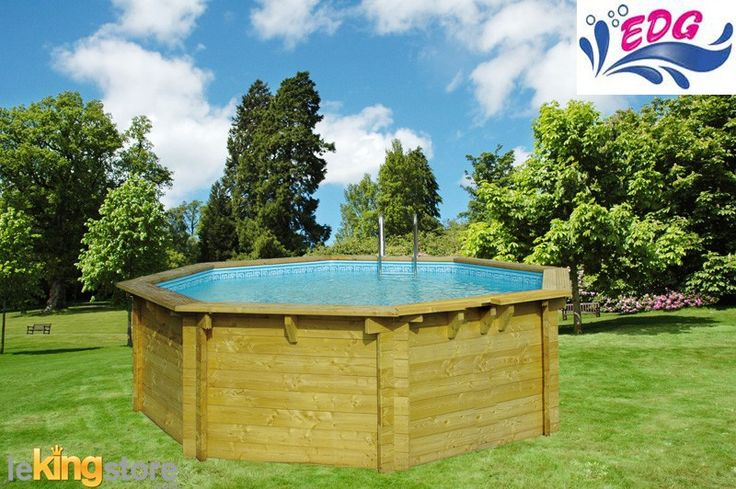 Principales 25 ideas incre bles sobre piscine octogonale for Piscine bois enterrable