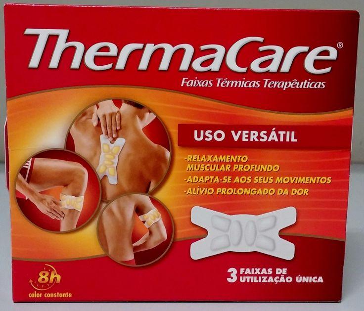 ThermaCare são Faixas Térmicas terapêuticas, concebidas para o alívio da dor muscular e das articulações.