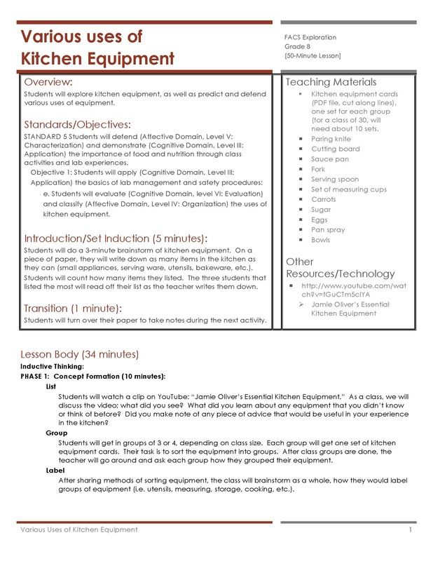 101 Best Teaching Tatweer Images On Pinterest House Interior Design House Interiors And Interieur: kitchen design lesson plans