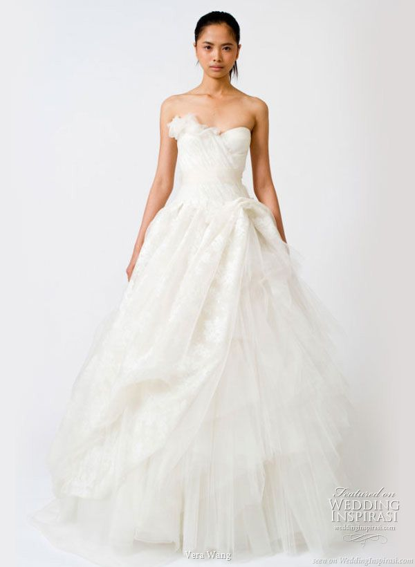 Vera Wang Spring Wedding Gowns