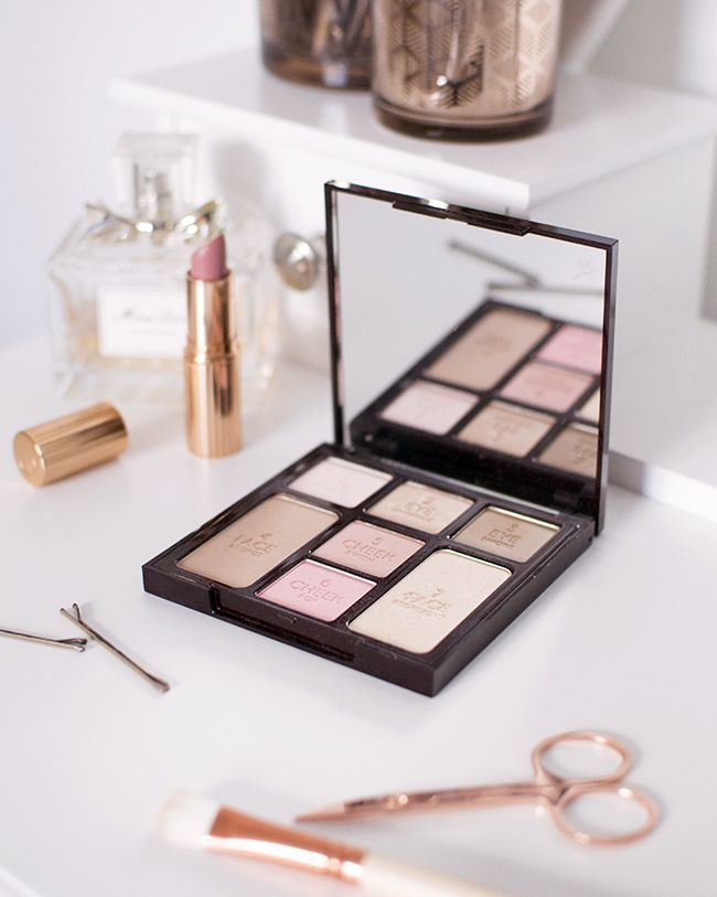 Charlotte Tilbury Instant Look In A Palette Review Magical Makeup Flatlay Makeup Luxury Makeup