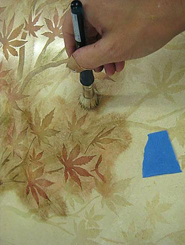 Cutting Edge Stencils Japanese Maple Branch Stencil