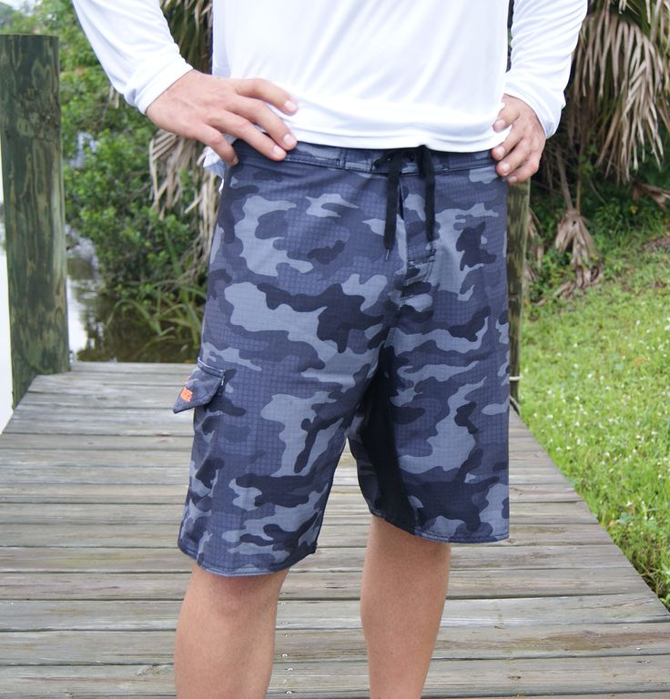 Signature Series Black Camo Board Shorts from Country Shore Outfitters