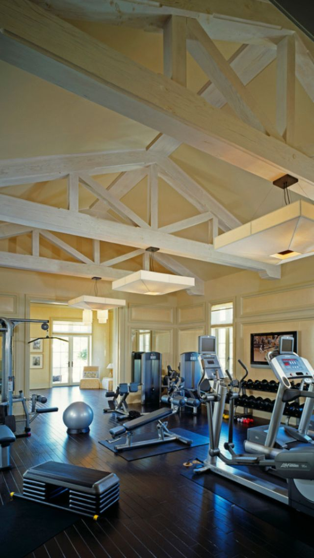 French Normandy Beverly Hills   Traditional   Home Gym   Los Angeles    Finton Construction
