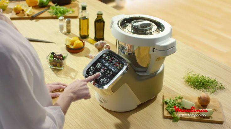 O seu verdadeiro ajudante na cozinha para a confeção rápida de todo o tipo de pratos, desde a entrada à sobremesa! Saiba mais em: www.chefmoulinex.pt