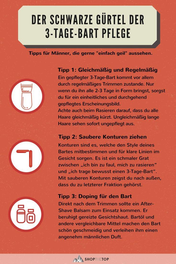 Pflege-Tipps und Anleitung zum Trimmen des 3-Tage-Barts