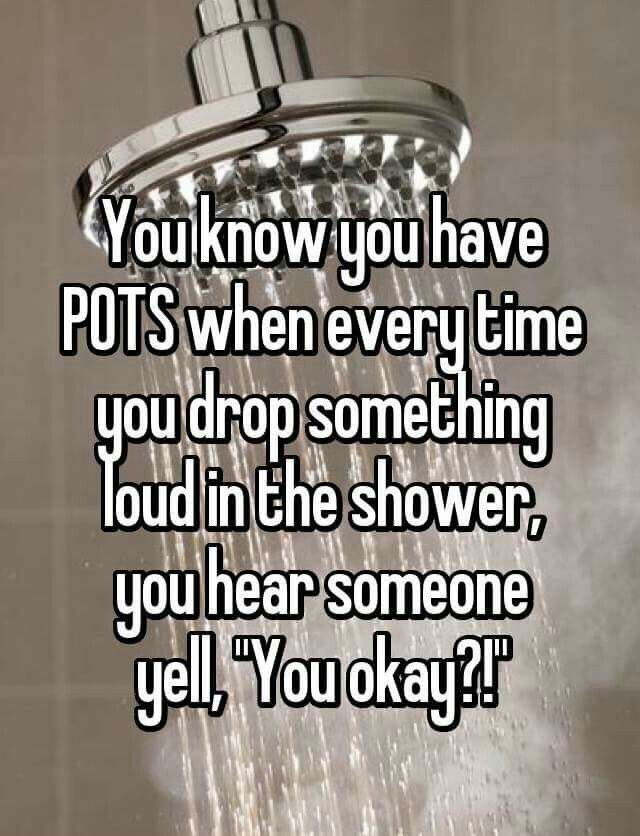 Oh my gosh yes my whole family comes running to the bathroom when I drop something