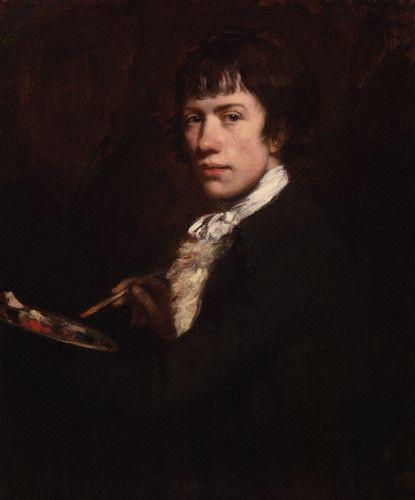 Opie, John (1761-1807) - 1785 Self Portrait (National Portrait Gallery, London)