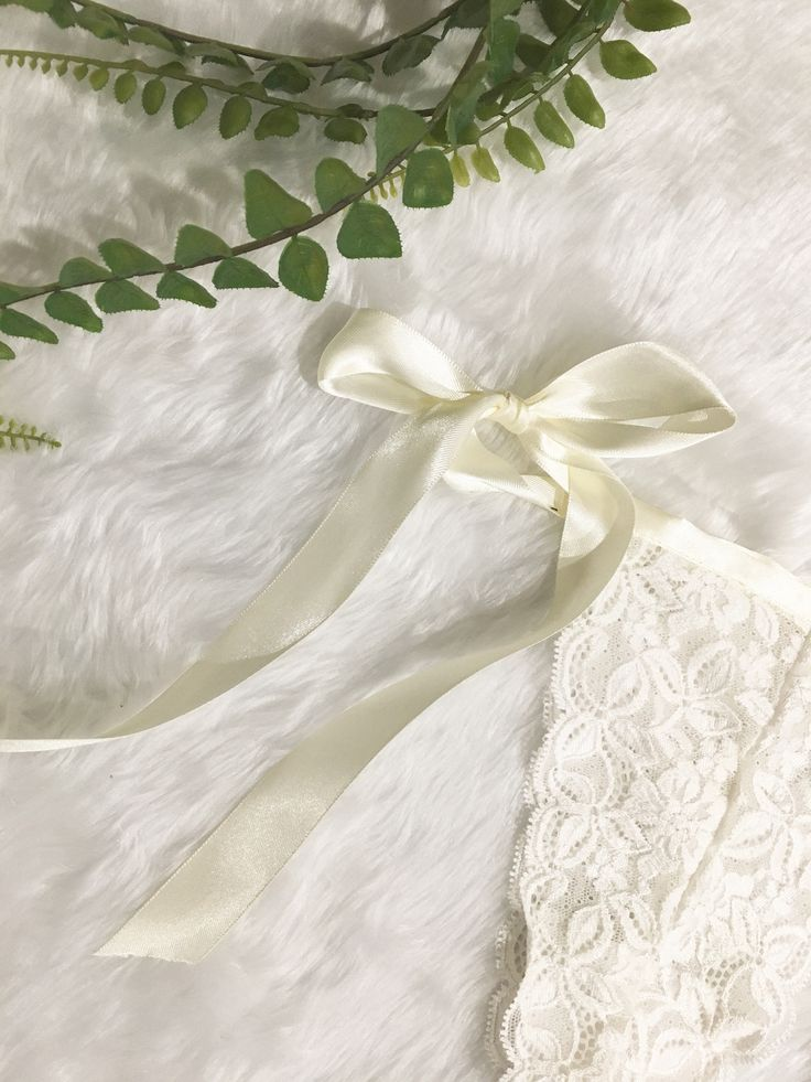 White Lace Knickers WILLOW | Bridal Lingerie | Lace Pantie | Honeymoon Lingerie | Satin Tie Panties | Sexy Underwear by HelloLittleElle on Etsy https://www.etsy.com/au/listing/527145850/white-lace-knickers-willow-bridal