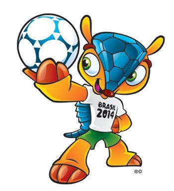 Mascote oficial da Copa de 2014