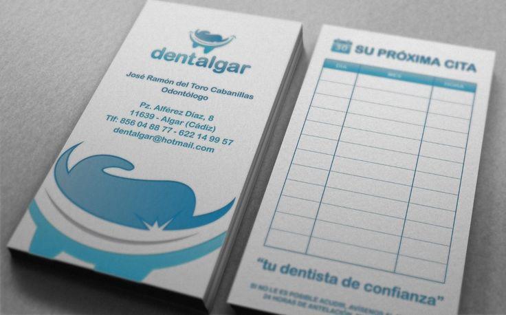 tarjetas de citas Dentalgar