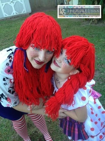 I am so excited to show y'all my Thrifty DIY Mom-Daughter Rag Doll costumes!! I googled and googled and prowled all over pinterest for cute...