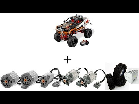 Lego Technic Extreme Off-Road Crawler - 4-Links Chassis - YouTube