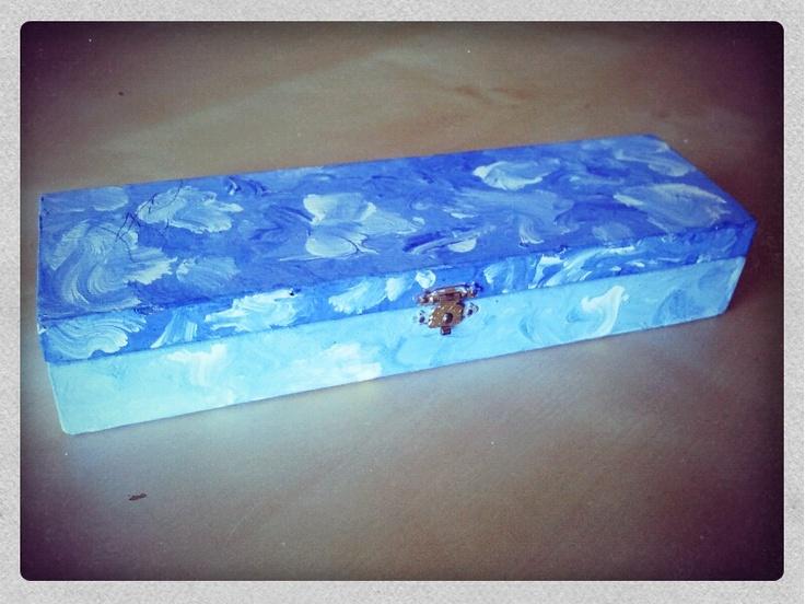 Pide por esa boca cajas pintadas creaciones a mano for Cajas pintadas a mano
