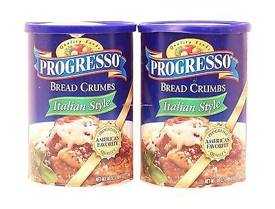 Bread 62694: Progresso Bread Crumbs Italian Style 2-Pack 40 Ounce Canisters No Tax -> BUY IT NOW ONLY: $31.27 on eBay!