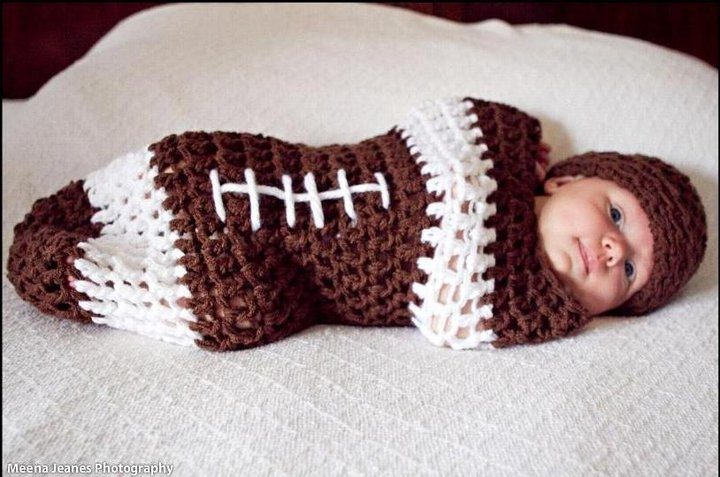 Too many cute crocheted/knitted baby things out there!!