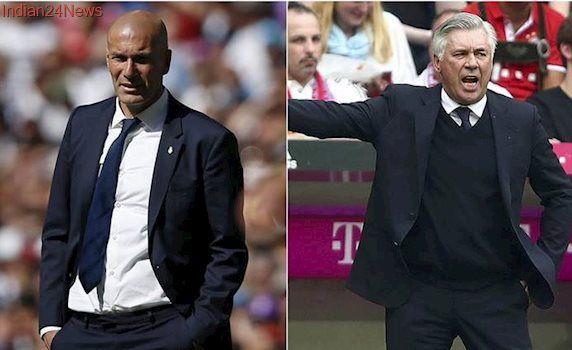 Kindred spirits Zinedine Zidane and Carlo Ancelotti set for Champions League reunion