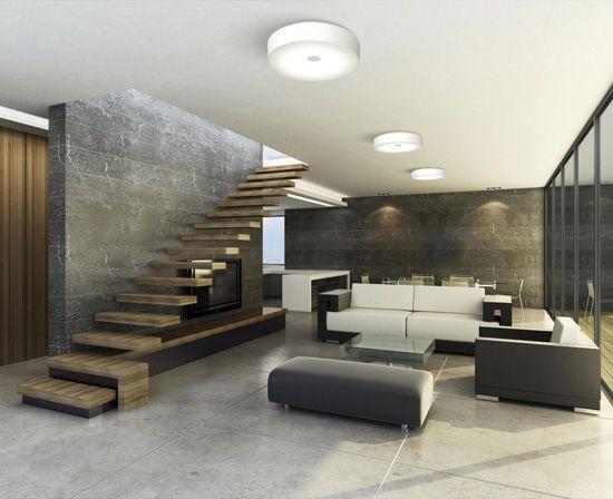 casa hogar plafones suelos piedra apliques casas moderno diseo de interiores interior minimalista
