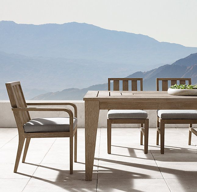 RHu0027s Cannes Dining Table:Renowned For Merging Classical Influences With A  Contemporary Sensibility, John
