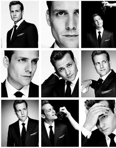 Gabriel Macht in Suits the best show on TV. I wish he would have been in the running for Christian Grey!