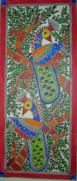 Indian Painting Styles...Madhubani/Mithila Painting (Bihar) - Page 5 - IndusLadies