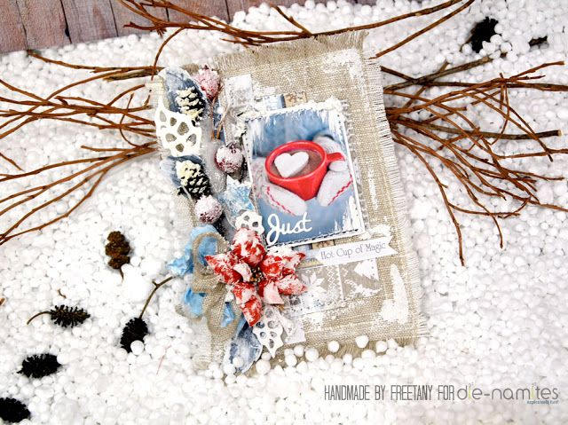 Freetany: Winter card. Tutorial