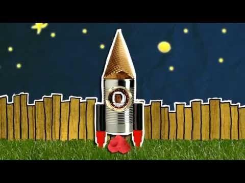 liedje muziek en dans Schooltv Maanlied Naar de maan - YouTube