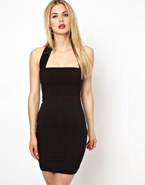 Платье с халтером AQ AQ Bibi | SweetList.ru