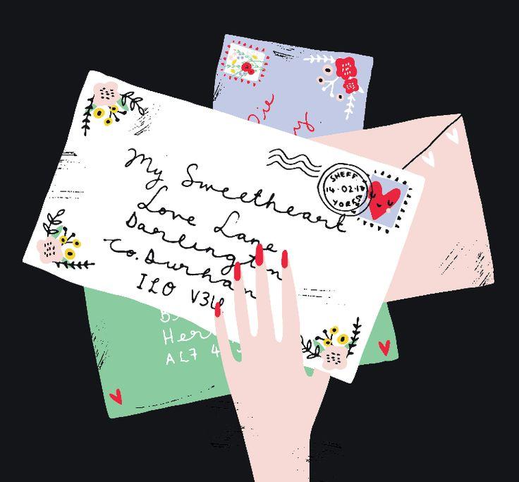 Design by Lucia Wilkinson at Bettyjoy Design Studio #valentines #loveletter