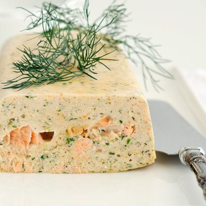 Norwegian salmon terrine